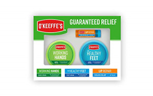 O'Keeffe's Giftbox including Cooling Relief Lip Repair Stick, Working Hands Jar