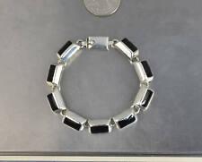 "CrazieM Sterling 925 Silver Vintage Southwest Estate Bracelet 6.5-7"" 35.3g x17"