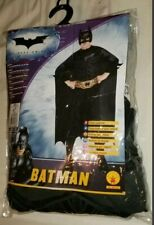 BATMAN COSTUME Kids Large US/CAN Size 12-14, 8 to 10 years BATMAN THE DARK KNIGT