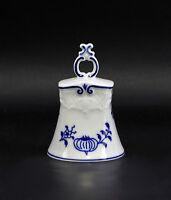 PORCELAIN TABLE BELL LINDNER Onion Pattern Blue Decoration 9986044