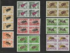 Stock Sheet of Hungary Stamps of Insects