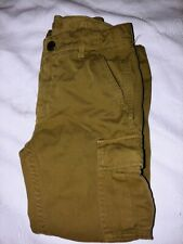 Crewcuts Boys Sz. 6 Khaki/ Brown Cargo Pants. Cute, Great Quality & Condition