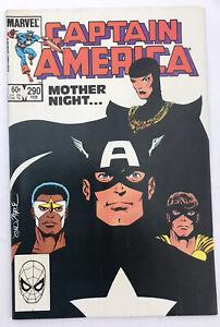Captain America #290 - 1st App Mother Superior - Marvel Comics