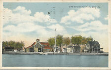 Erie PA * Life Saving Station  1917 * Water Rescue