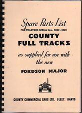 County Crawler Illustrated Parts Manual Book