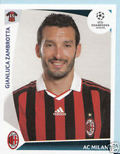 Football autocollant-panini uefa champions league 2009-10 - no 145-ac milan