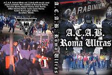 DVD ACAB ROMA  VOLUME 2  (AS ROMA,ULTRAS,HOOLIGANS,1312,amf,CURVA SUD,SCONTRI)