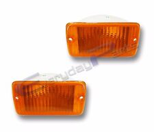 Fits 97-05 Jeep Wrangler Amber Turn Signal Parking Light Lamp Assembly 1 Pair