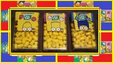 NEW SIMPSONS TIC TAC LOT OF 3 HOMER MARGE BART DONUT BUBBLE GUM BLUEBERRY 1 OZ