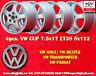 4 rad Volkswagen Cup 7.5x17 Passat 3B und 3BG (96-05) Räder Felgen jantes
