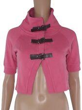 only bolerino maglia felpa donna rosa taglia xs extra small