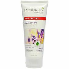 NEW Petal Fresh Botanicals - Age Defying FACIAL LOTION - ALOE & LAVENDER - 7oz