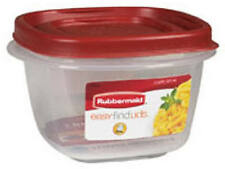 Rubbermaid Square Plastic Food Containers, Utensils & Sets