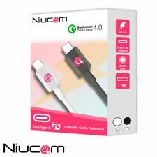 NIUCOM CABLE DE CARGA RÁPIDA 4.0  USB TIPO C PD PARA IPHONE Y ANDROID
