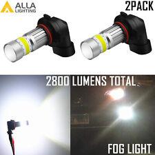Alla Lighting 9145 H10 Fog Light Driving Bulb,Crystal Pure White 6000K Lamp
