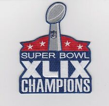 SUPER BOWL XLIX CHAMPIONS PATCH  2014 SUPERBOWL 49 NEW ENGLIND PATRIOTS