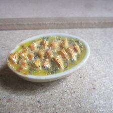Casa de muñecas comida pan y mantequilla Dulce DHD1730