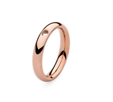 Qudo Small Basic Ring  - Rose Gold/Plated- size 9