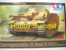 Tamiya 1/48 WW2  German  Assault Gun III  Ausf G  Tank Model Kit # 32540