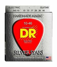 DR Strings Silver Stars - Extra-Life Silver Coated Electric 10-46