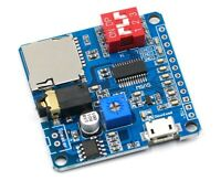 MP3 Player Voice Playback Module I/O Trigger UART Control SD/TF For Arduino -UK
