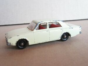 655Q 1965'S Matchbox No 45b England Ford Corsair Yellow 1:64