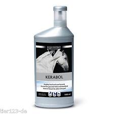 2 x EQUISTRO Kerabol Ipaligo TEC 1000ml Flasche (2000ml Gesamt) Vetoquinol Pferd