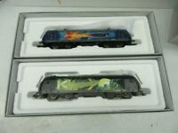 HO - Marklin 36837  UPGRATED DCC/MFX Superman E-Loco & Lex Luther Diesel Loco -