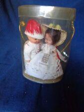 poupee miniature plastique vintage souvenir monaco prince princesse grace kelly