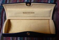 Spectacle case ETUI BOX BOUCHERON PARIS BRAND FEDON FASHION GLASSES LUNETTES VUE