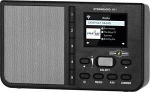 TechniSat STERNRADIO IR 1 Internet desk radio ,AUX,Internet radio, Wi-Fi,Black