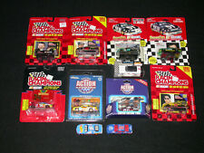 Lot of 11 - 1990's - Racing Champions Racing Action Diecast Cars 1:64 Stock Cars