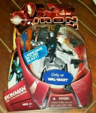 Marvel Iron Man Stealth Operations Suit Action Figure w/Launching Gatling Blast!