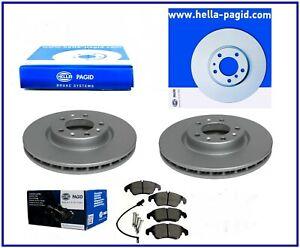 HELLA PAGID Bremsensatz vorne 320mm AUDI A6 C7 A4 B8 ab 2012 A7 Q5 für PR 1LA