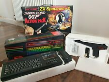 Sinclair ZX Spectrum +2 128k: James Bond 007 Action Pack - Original Box &Working