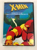 X-Men * Sanctuary Part 1  2/Proteus Part 1  2/Weapon X, Lies and Videotape dvd
