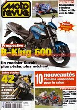 MOTO REVUE 3674 Essai MZ 1000 SF APRILIA 1000 Tuono SUZUKI 600 B-King YAMAHA 05