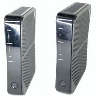 Lot of 2 ZyXEL P-660HN-51 300 Mbps 1-Port 10/100 Wireless N Router Untested