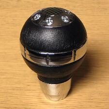 Pommeau de Vitesses Style Chrome et Carbone Saab 9-3 9-5 900 9000 95 93 9-7