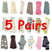 Leg Warmers Baby Leggings Toddler U-Pick Lot of 5 Pairs Socks NEW