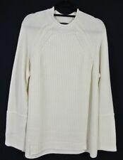 NEW J.Crew New England Mock Neck Wool Tunic Sweater- ivory size XL