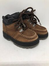 Thom McAn Brown Leather Lace Up Shoes Boots Toddler Boy's Size 7 Shoes