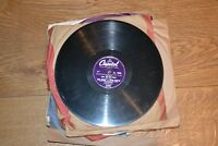 Bing Crosby records 78s record collection