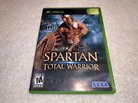 Spartan: Total Warrior (Microsoft Xbox, 2005) Complete Excellent!