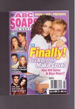 ABC SOAPS IN DEPTH GENERAL HOSPITAL GH FINALLY JAX & BRENDA MAKE LOVE NOV 2002