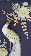 More details for  oriental seashell diorama ~ vintage art ~large stylised
