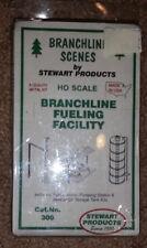 HO Branchline Scenes Stewart Branchline Fueling Facility #300 NEW
