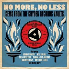 No More, No Less-Gems From The Guyden Records Vaults 1954-1962 2-CD NEW SEALED