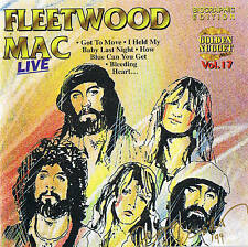 FLEETWOOD MAC limit. Biographic Edition Live 10 Tracks CD Cosmus DSB New O-Box