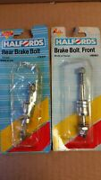 Halfords front and rear brake bolt Old School Bmx dia compe weinmann Chang star